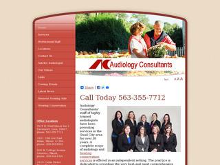 Audiology Consultants, P.C.