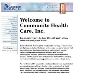 Community Health Care - Rock Island Clinic